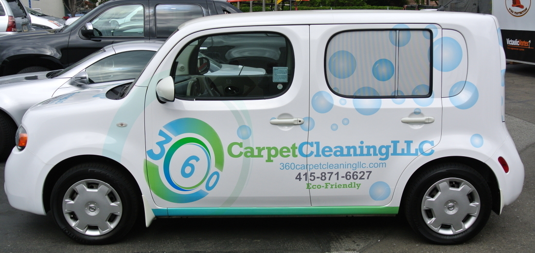 360 Carpet Cleaning Wrap Custom Vehicle Wraps