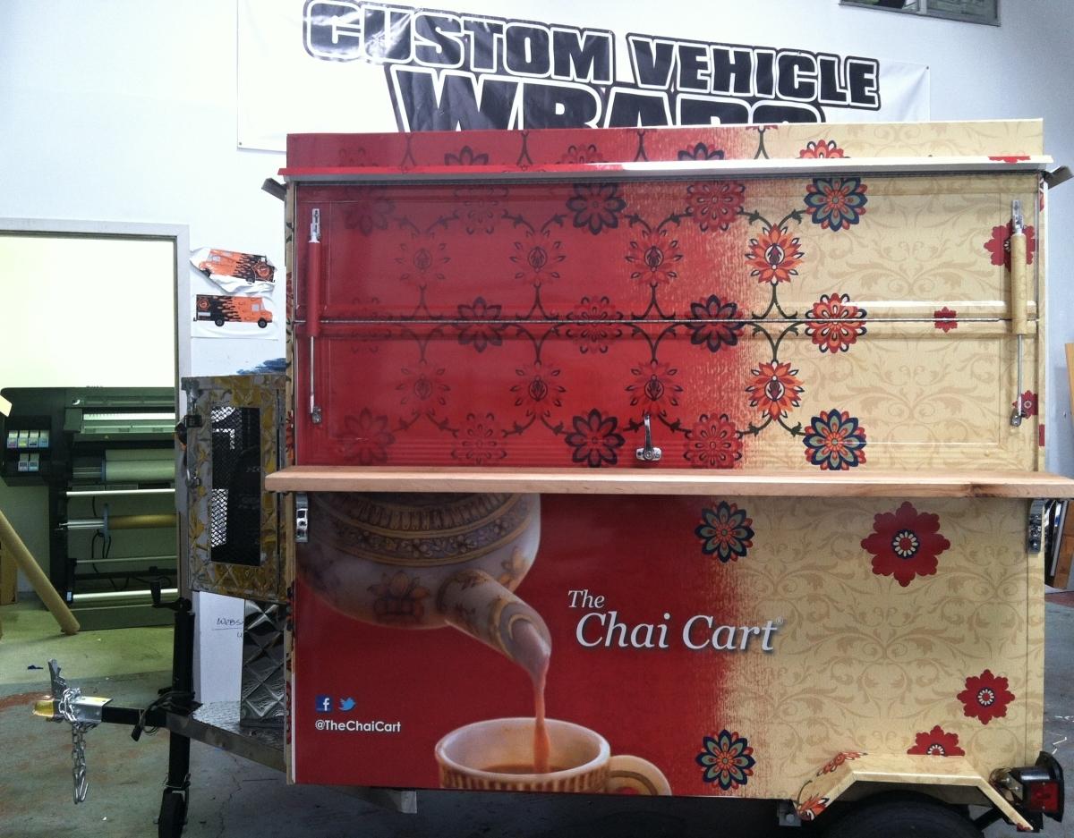 Chai Cart Wrap Custom Vehicle Wraps