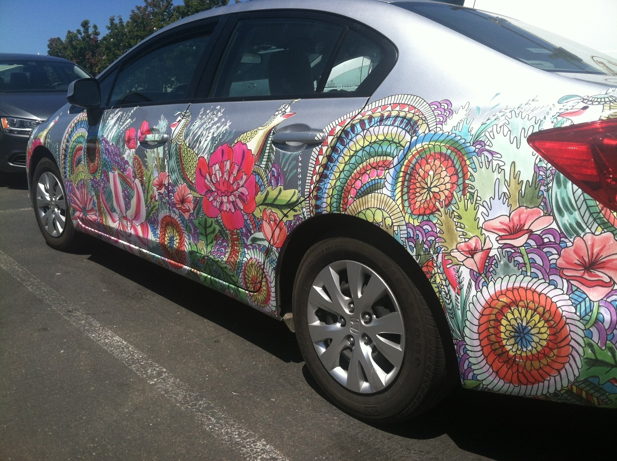 Art Wrap For Zipcar 04 Custom Vehicle Wraps